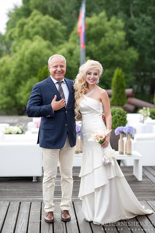 фото с красавицей невестой