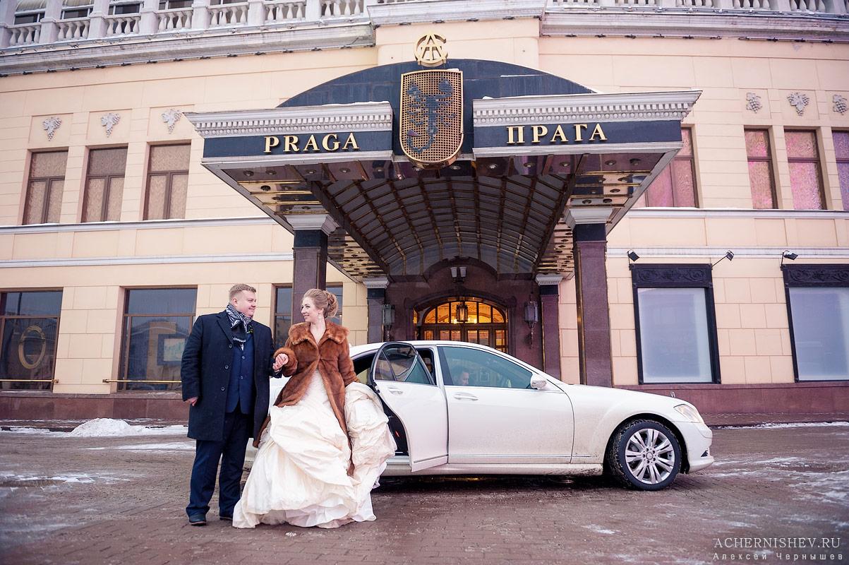 Свадьба в ресторане Прага