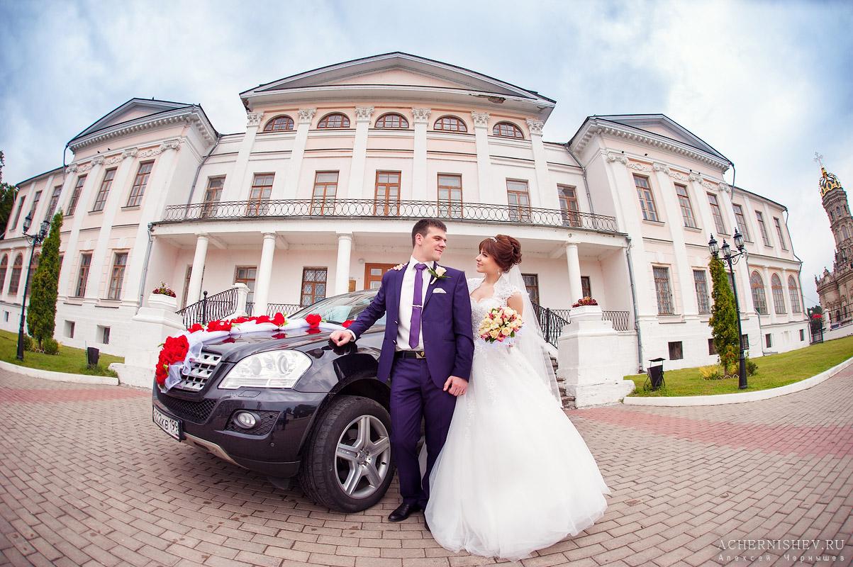 Усадьба Дубровицы - свадебная фотосессия