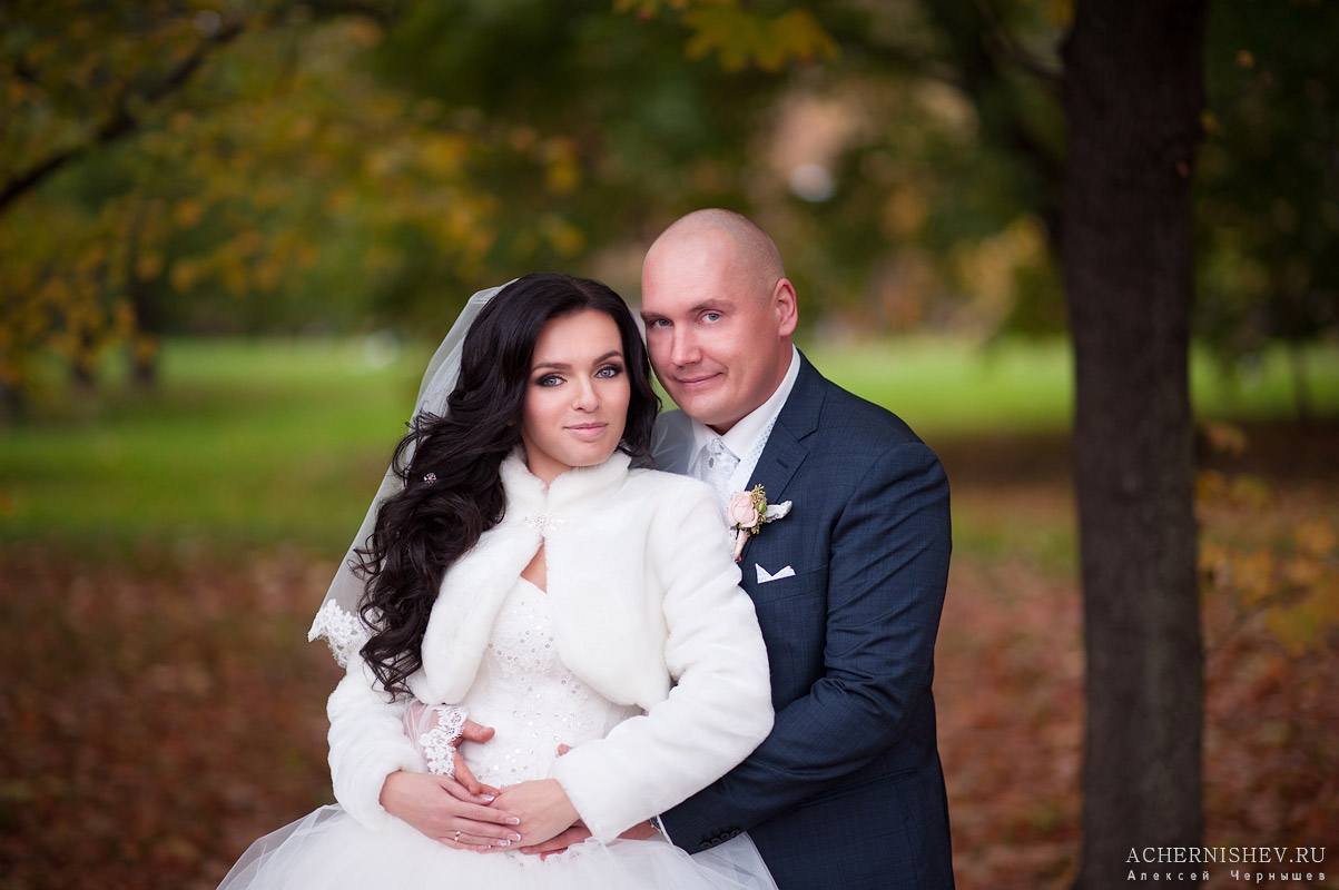 svadebnaja fotosessija v parke