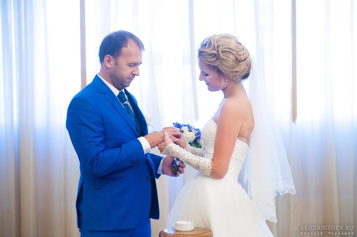 свадебная фотосессия в Медведковском ЗАГСе