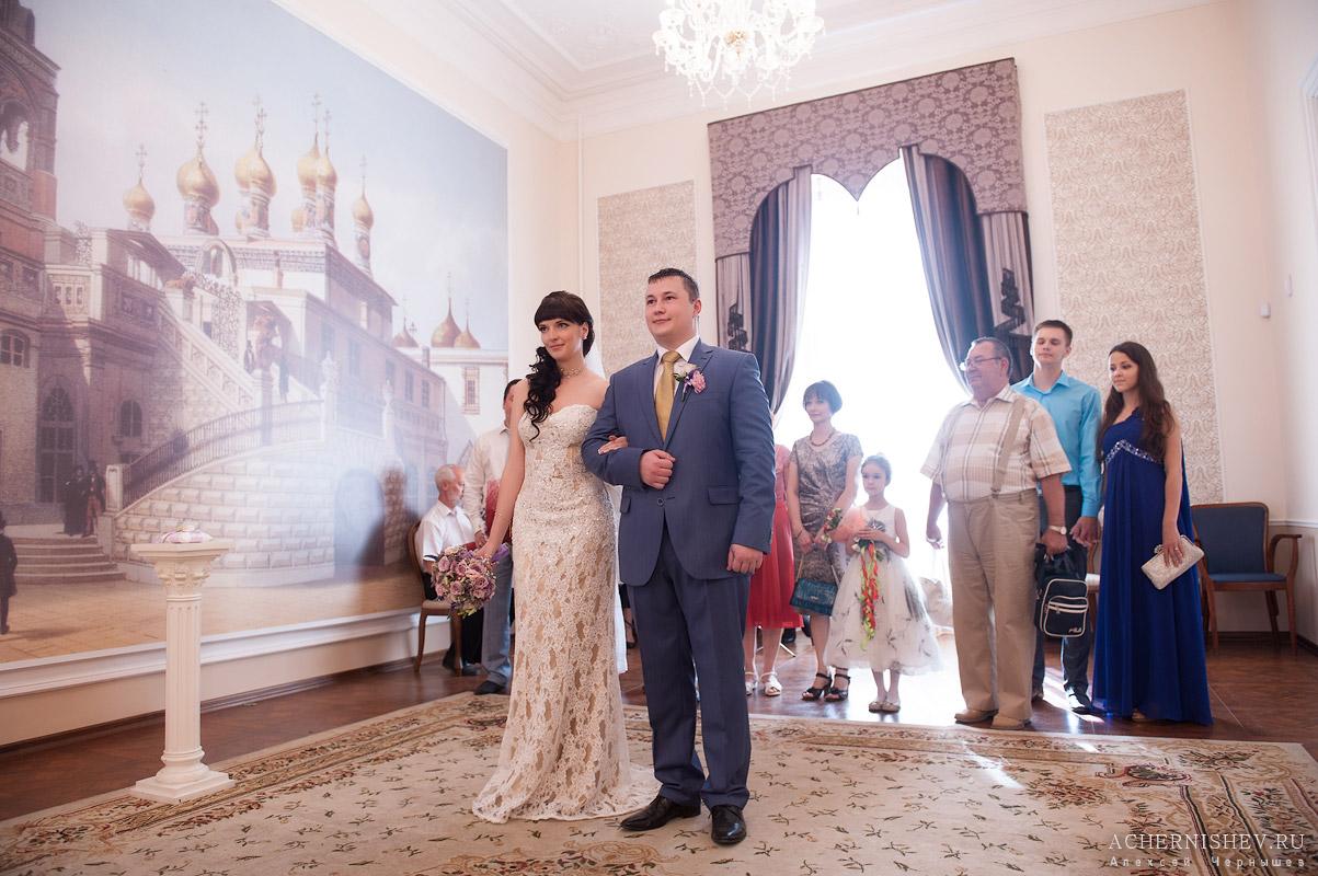 торжественная регистрация брака в Мещанском ЗАГСе