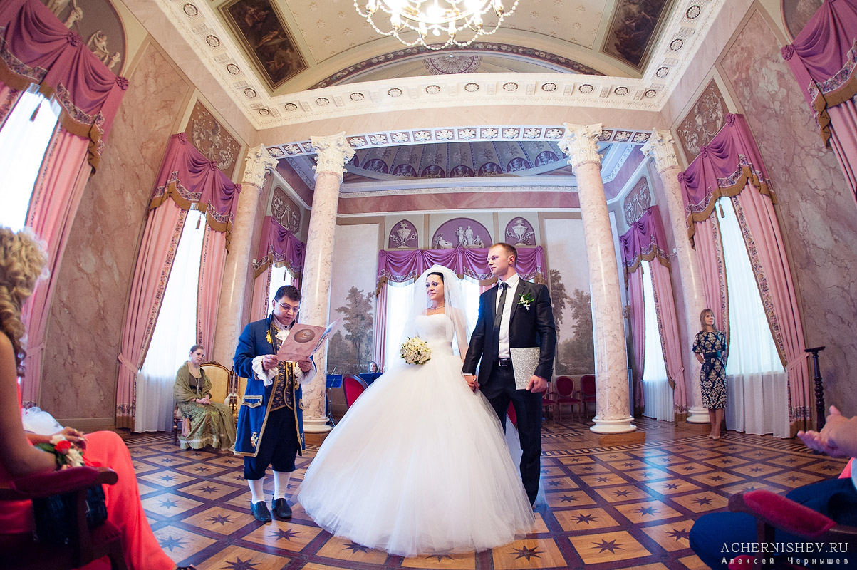 выездная регистрация брака в усадьбе Дурасова