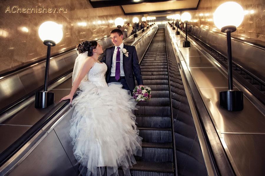 фотосессия в метро