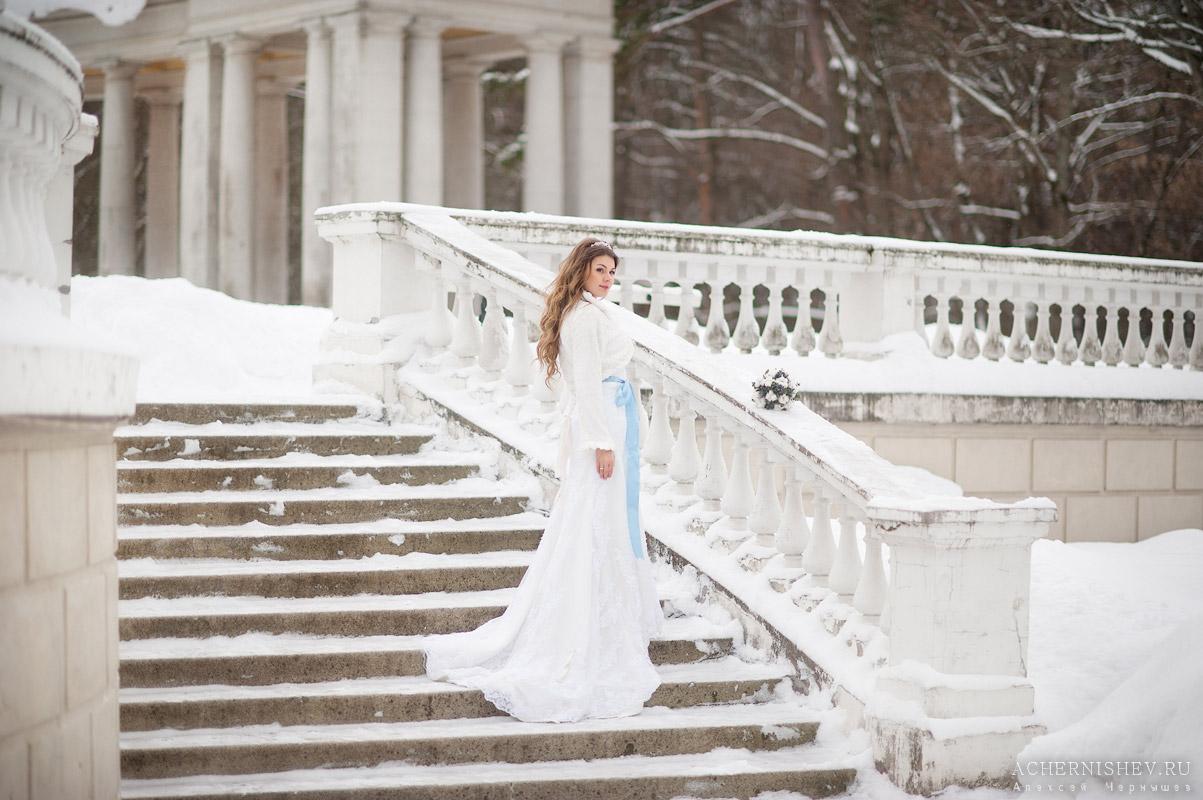 Усадьба Архангельское - свадебная фотосессия