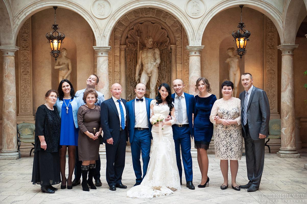 групповые свадебные фотографии