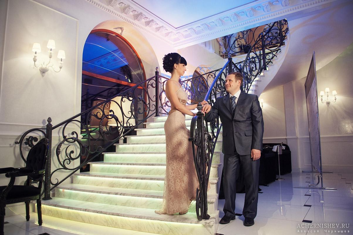 Свадебная фотосессия в ресторане IL BAROLO (Эль Бароло)