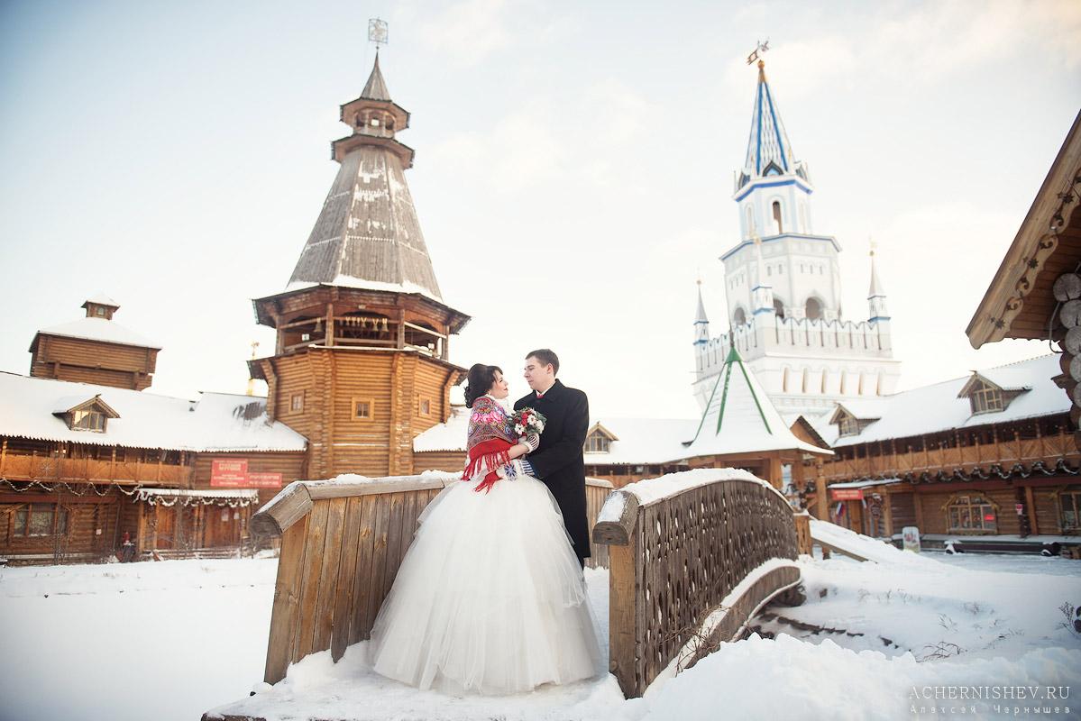 свадьба и Измайловском кремле