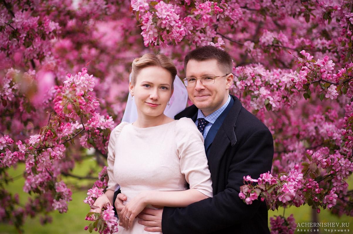майская свадьба в цветах