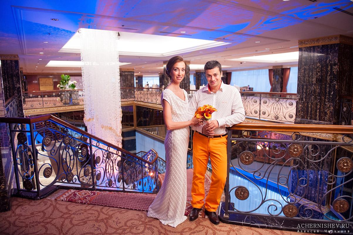 Свадебная фотосессия в отеле Лотте Плаза