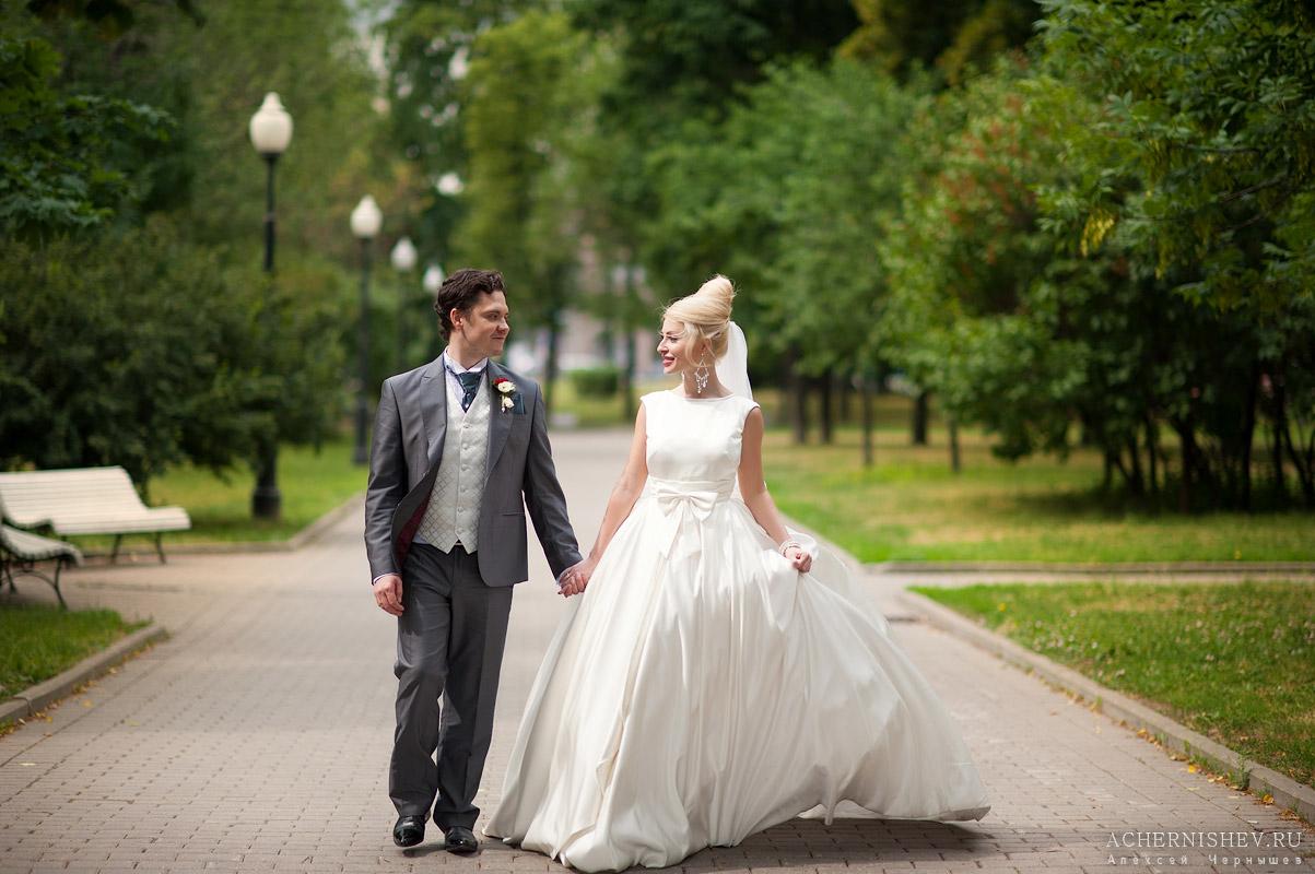 свадебная прогулка в июне