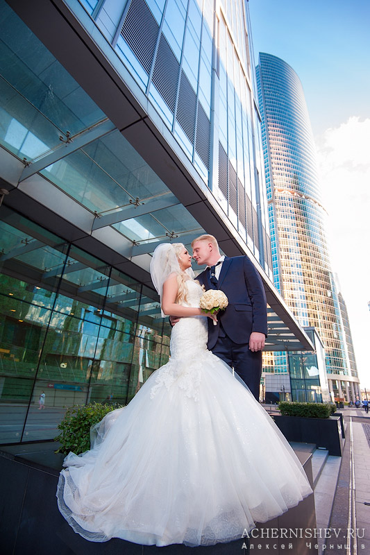 свадьба у Москва-Сити