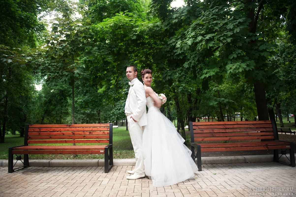 фотосессия в парке у Новодевичьего монастыря
