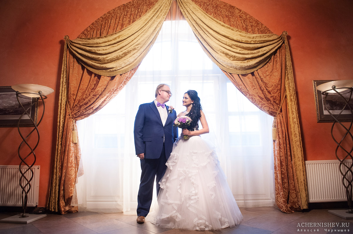 Свадьба в Петровском Путевом Дворце