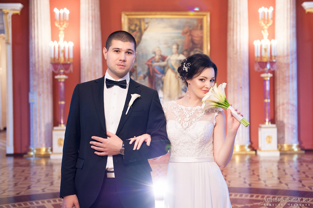 портрет жениха и невесты в усадьбе