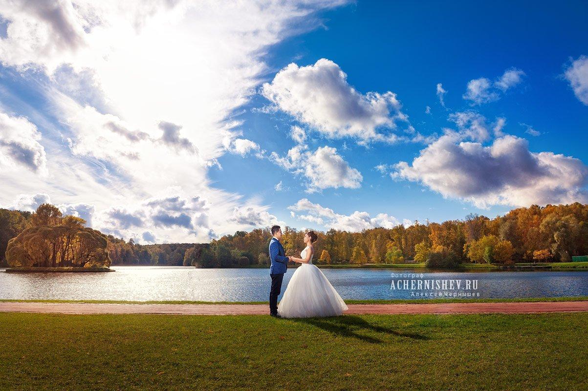 Свадьба в Царицыно — фото