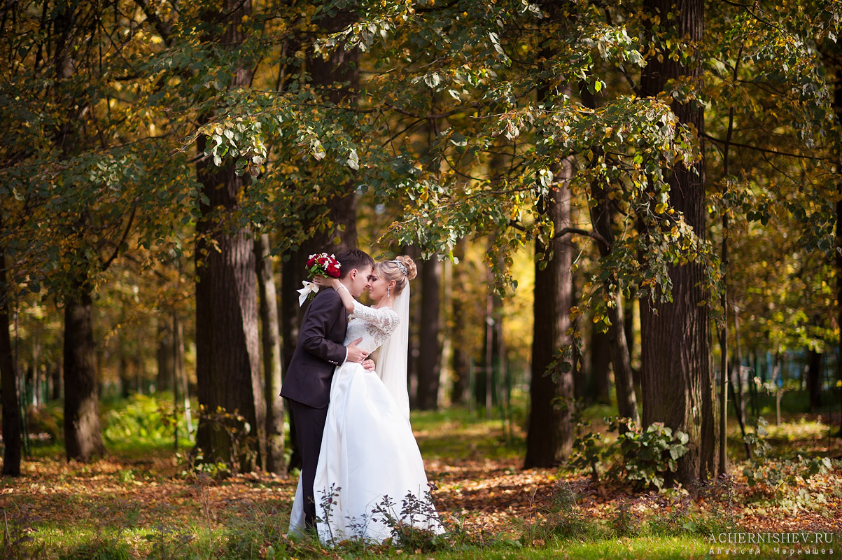 свадебная фотосессия в Измайловском парке