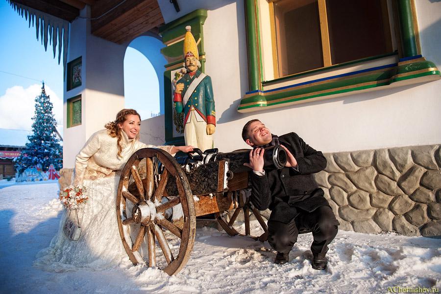 зимняя свадьба в январе