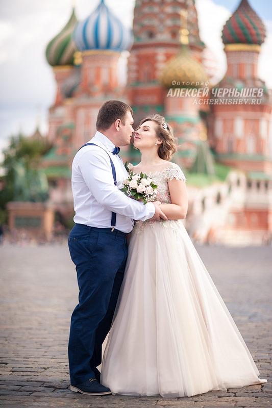 Свадебная фотосессия на Красной Площади