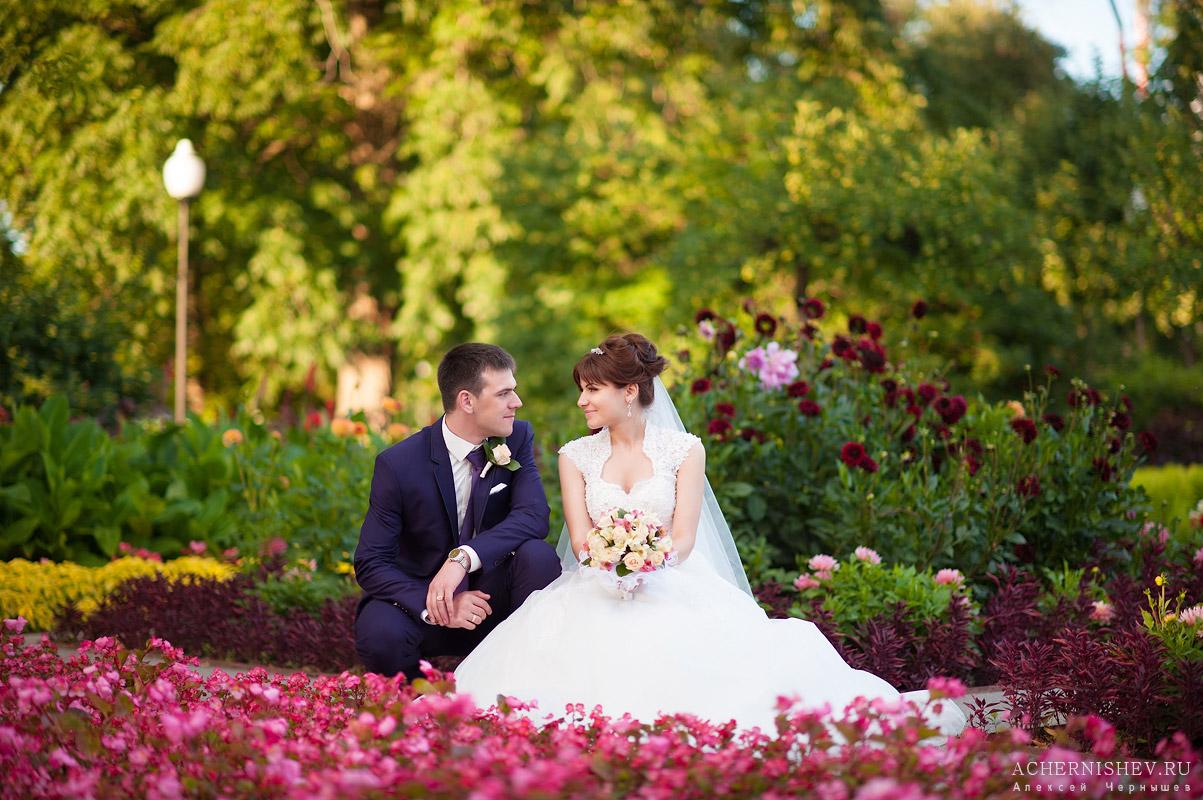 Нескучный сад фотосессия свадебная