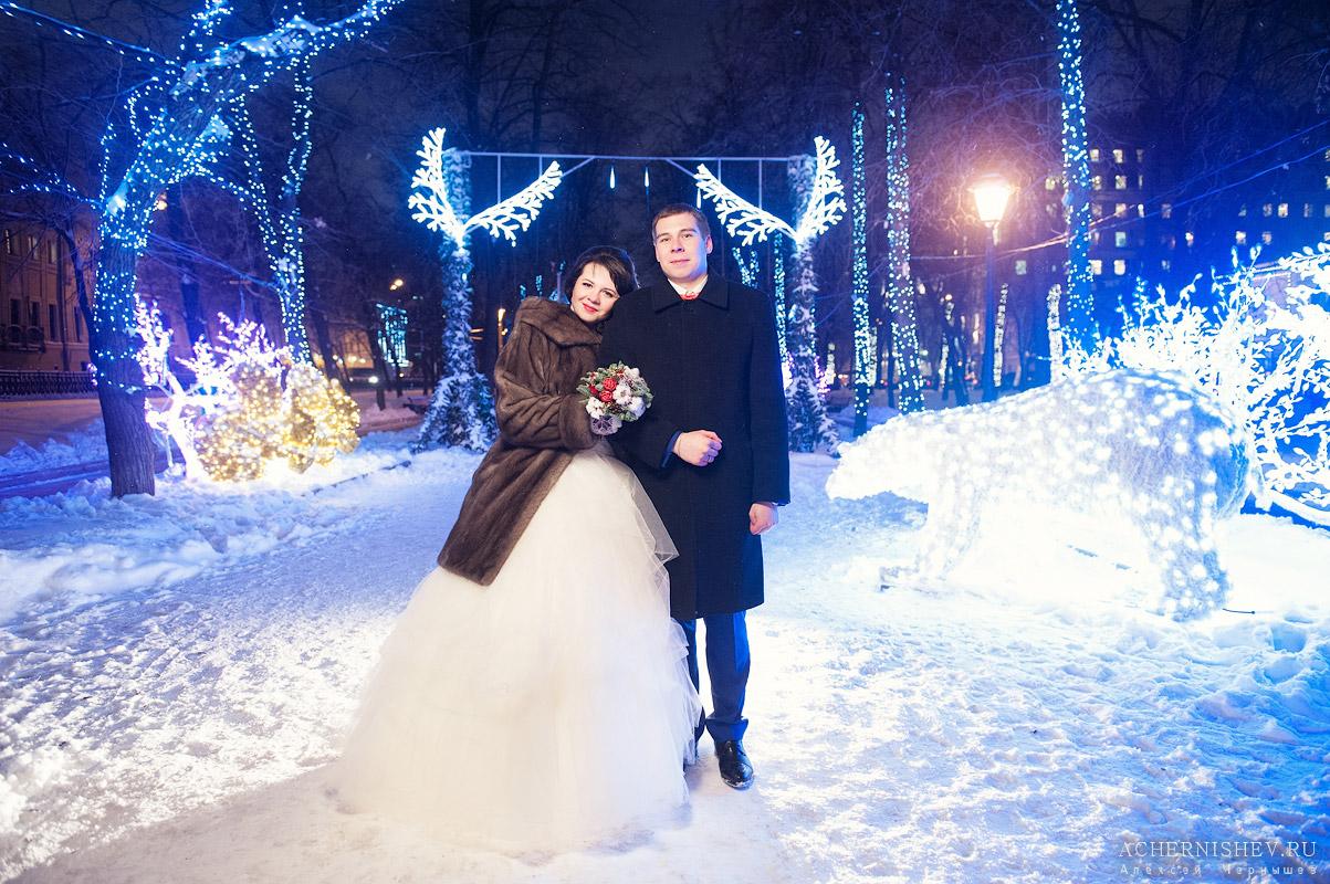 Места для зимней фотосессии в москве