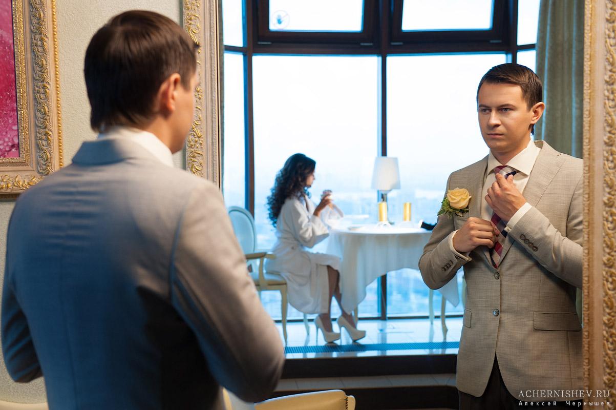 Триумф Палас - свадебная фотосессия в отеле