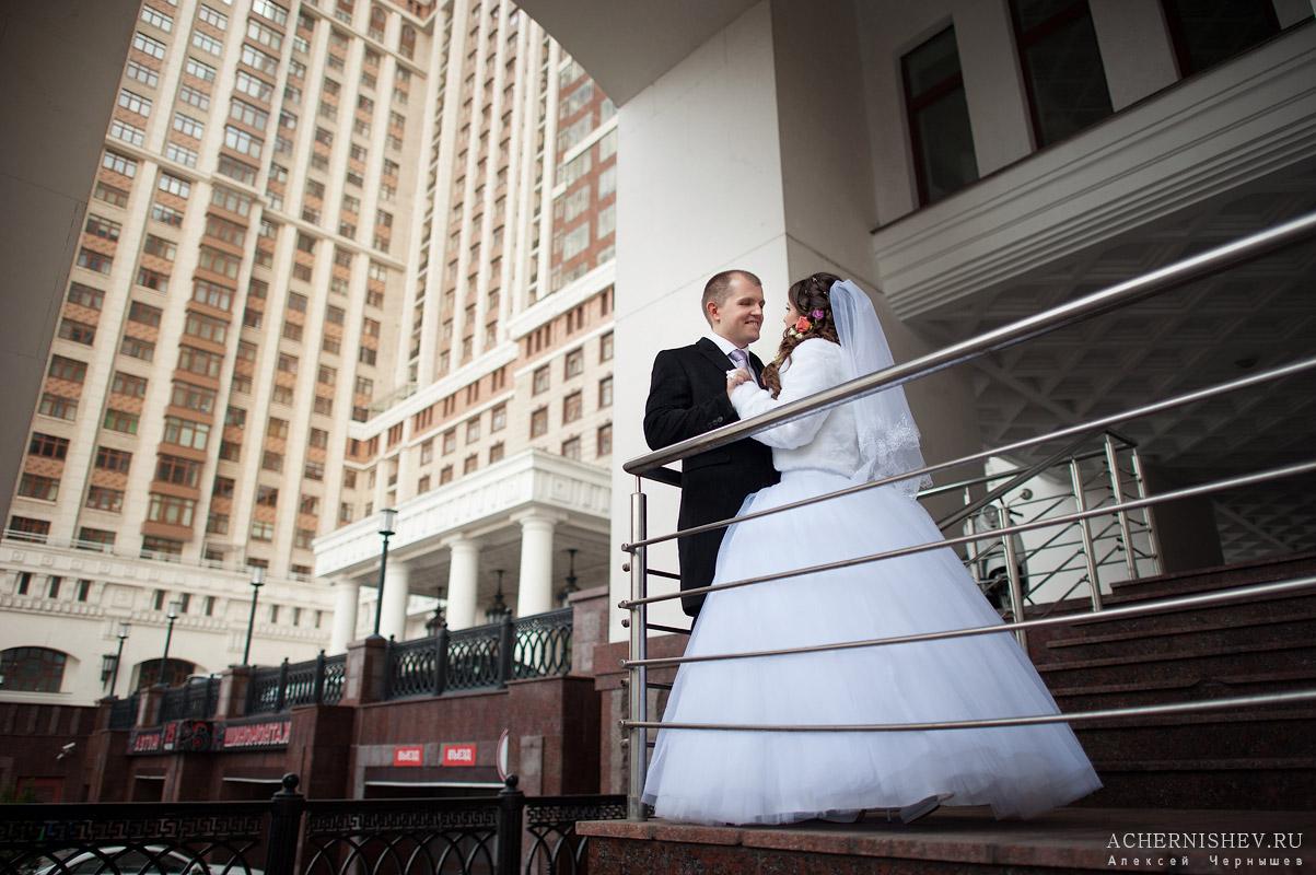 Триумф палас свадебная фотосессия