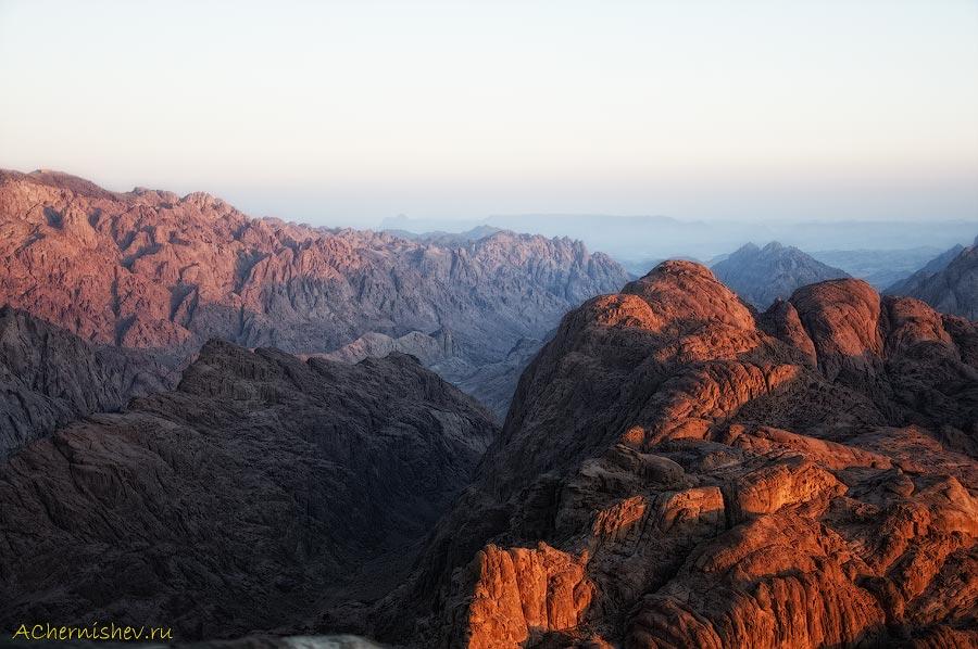 Египетские горы на рассвете