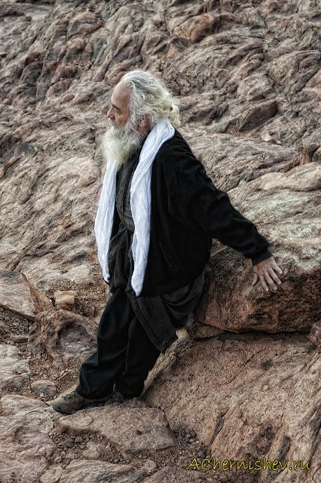 восхождение на гору Моисея в Египте