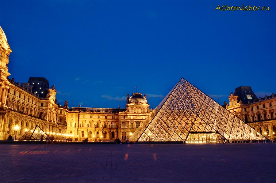 фотоотчет о путешествии в Париж - Лувр