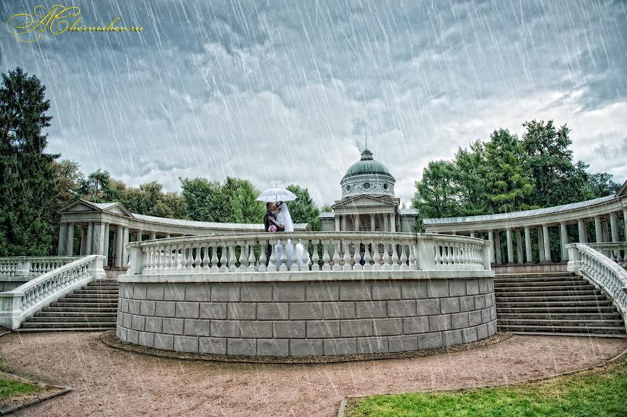 свадьба в Архангельском - прогулка с фотографом