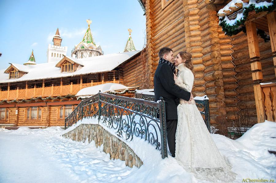 Фотограф на свадьбу зимой