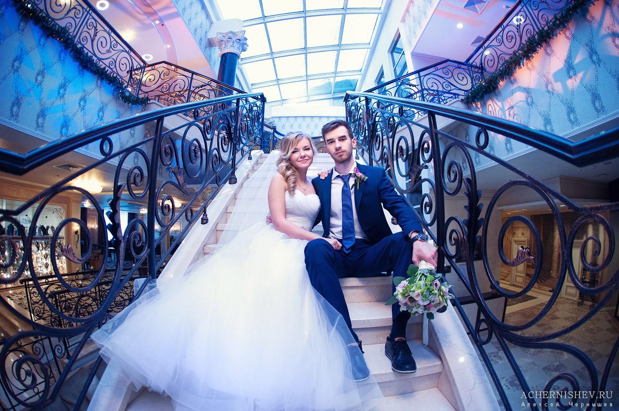 Свадебная фотосессия в отеле Милан