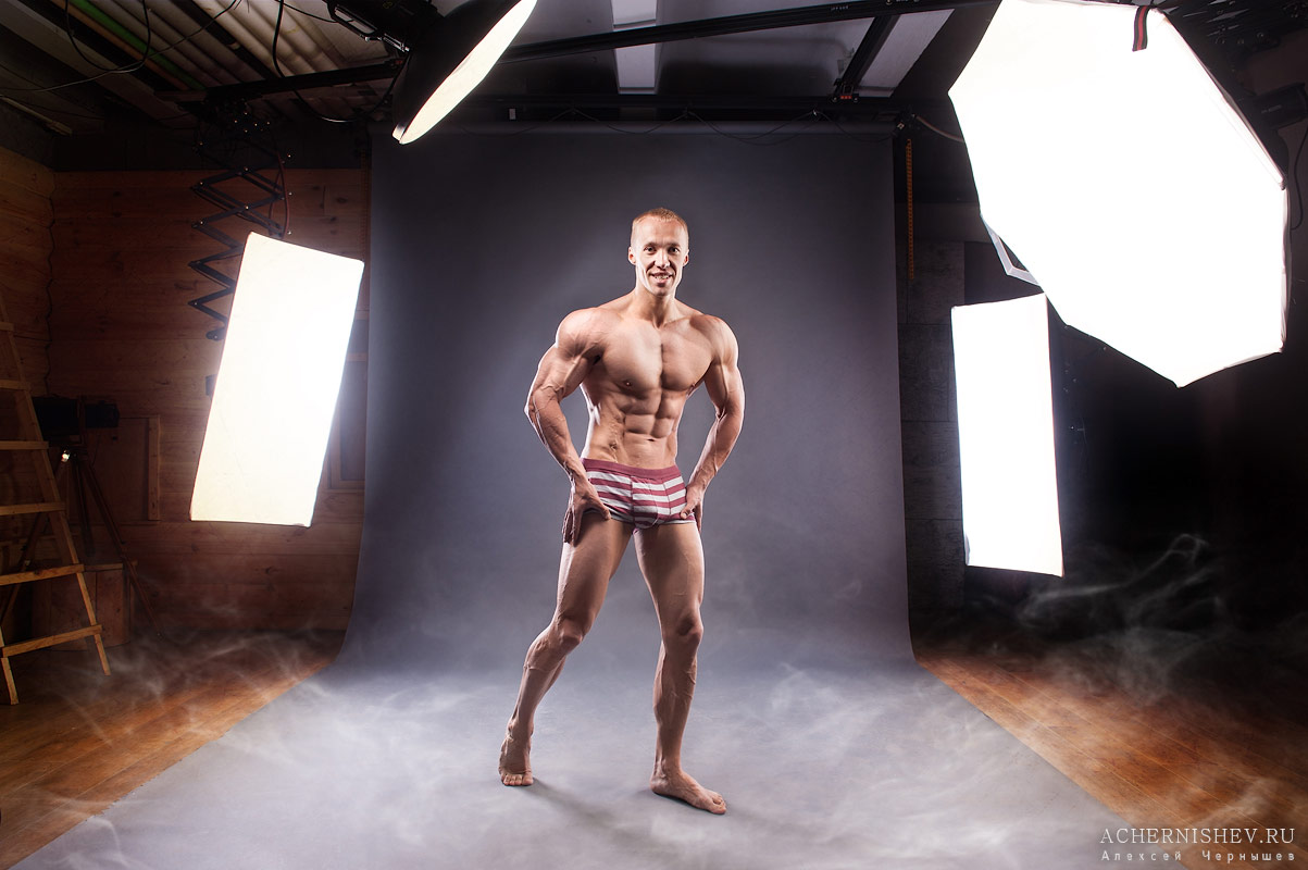 photo shoot bodybuilder