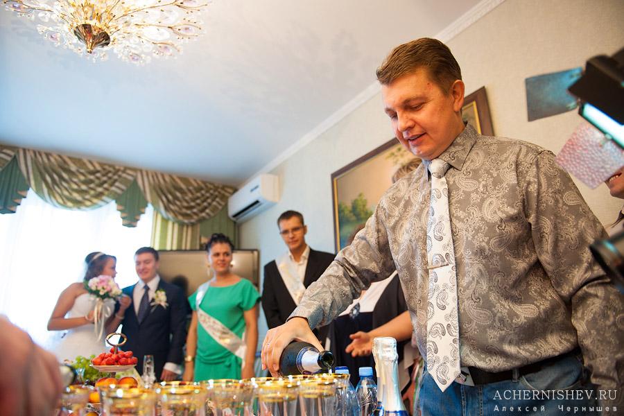 Что поставить на стол на выкуп невесты фото