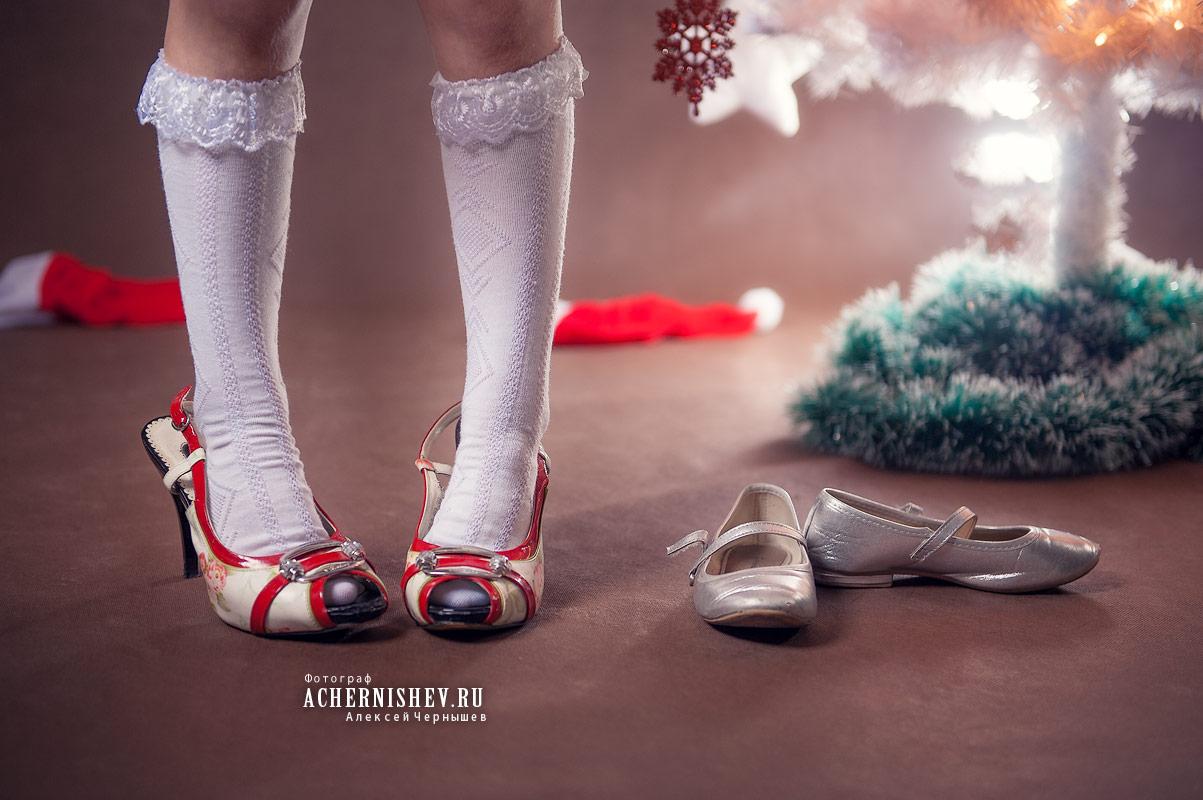 мамины туфли для дочки