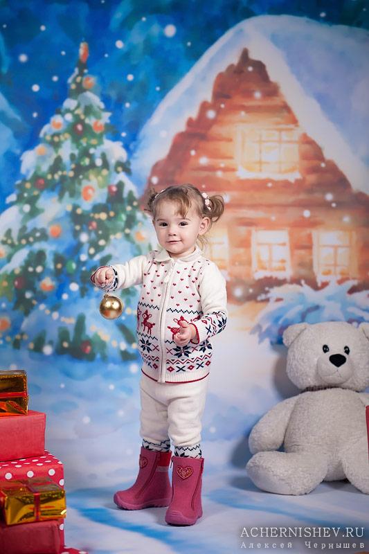 новогодняя фотосессия для детей