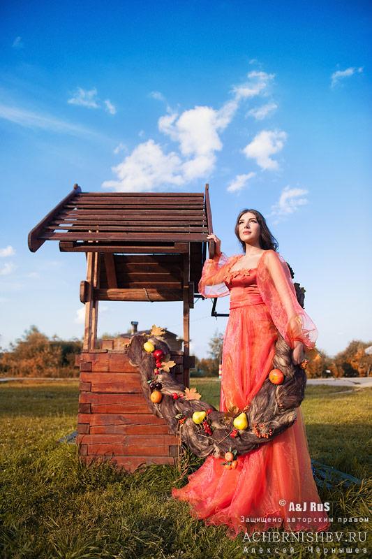 платье от дизайнера Евгении Прачёвой
