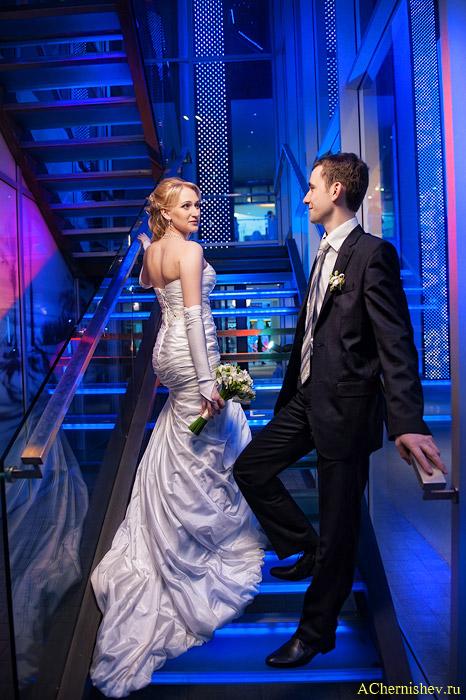 Свадебная фотосессия в ТРЦ Вегас